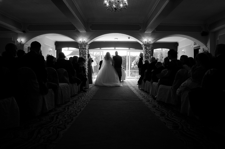 Mariage silhouette