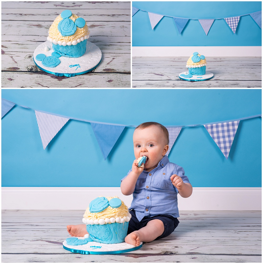 Cake Smash Joeys 1st Birthday Mmc Photography