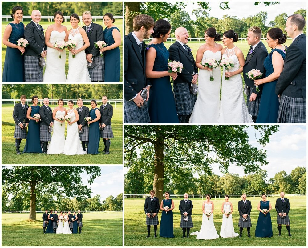 Hamilton Park Race Course Wedding, bride, hamilton, two brides, same sex, scotland, laanrkshire, bothwell, horse racing, marquee, bridesmaids, kilts, humanist, outdoor, ceremony, barbecue, marriage, motherwell, shotts, cambuslang, photographer, photography, pics, photos, images