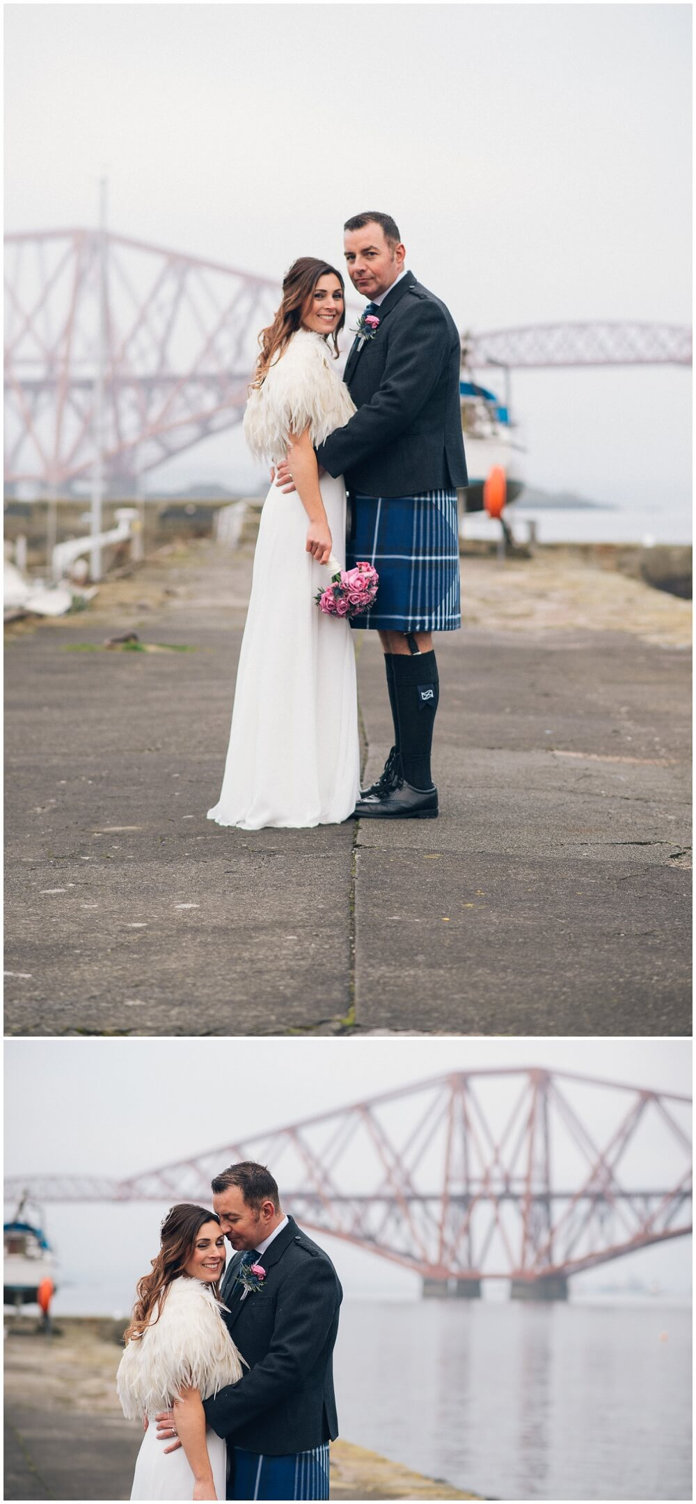 Orocco Pier, Wedding, Bride, Groom, Kilt, Scotland, South Queensferry, Forth, Railway bridge, photography, photographer, blog, love, Mark McCue, MMc Photography, www.mmcphotos.co.uk, Shotts, Fauldhouse, beach, harbour, Orocco Pier wedding